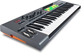 Novation Launchkey 49, 49-key USB/iOS MIDI Keyboard Controller with Synth-weighted Keys