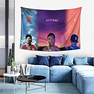 Wakaltk Chance The Rapper Ultra-Soft Wall Hanging Decor Artwork Blanket Tapestry 60x40 Inch