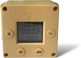 Titan Incubators Cube Temporizador Automático Abrepuertas/Cerrador de gallinero