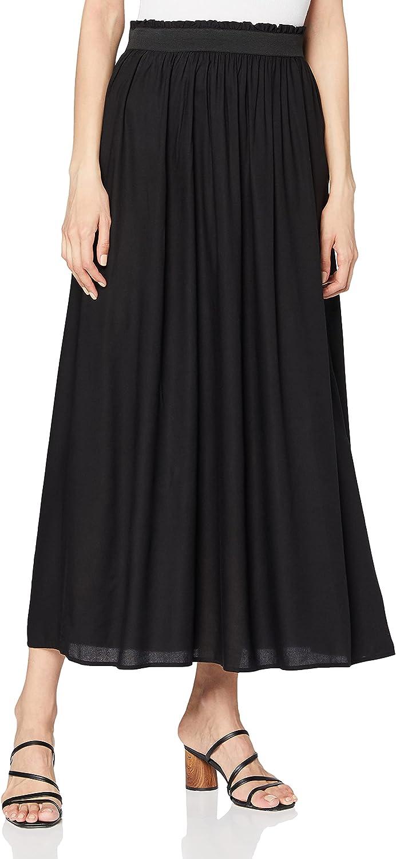Only Onlmegan Maxi Skirt WVN Jupe Femme