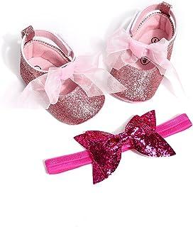 oklady Toddler Baby Boy Girls Denim Bow Knot Sandals First Walker Shoes Blue