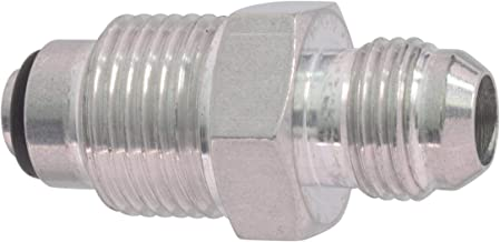 ICT Billet 6an Male Flare to M18-1.5 O-ring Power Steering Adapter Fitting Thread Connector Fluid Designed & Manufactured in the USA Bare Aluminum F06ANPSM1815