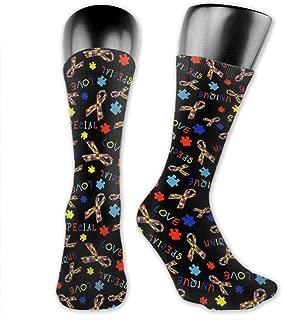 Novelty Socks for Dress Decor, Unisex Light and Breathable Fashion Art Socks