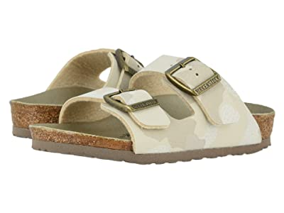 Birkenstock Kids Arizona (Toddler/Little Kid/Big Kid) (Desert Soil Camo Sand Birko-Flortm) Kids Shoes