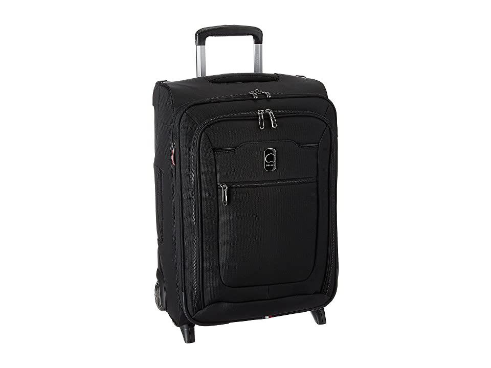 Delsey Hyperglide Expandable 2-Wheel Carry-On (Black) Carry on Luggage