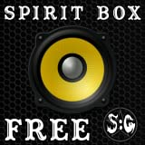 SG1 Spirit Box - Spotted: Ghosts