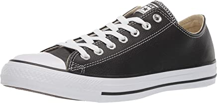 b48ae99e7c61 Converse Chuck Taylor All Star Mono Leather Ox, Men's Low-Top Sneakers,  Black