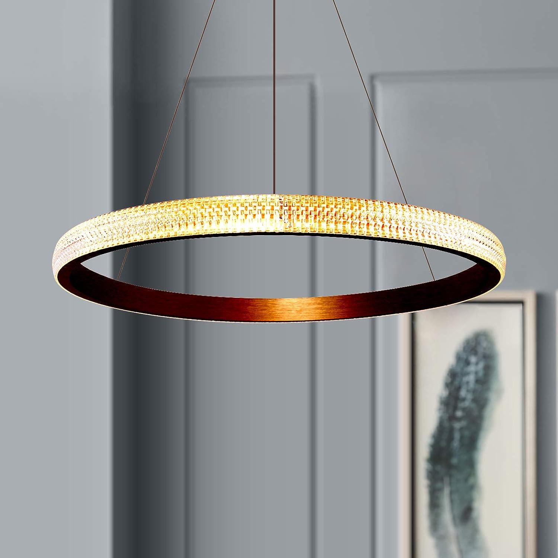 Leniure Modern Gold Circular LED Light L Lamp half Pendant Long Beach Mall Chandelier