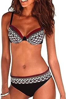 Abito da Spiaggia da Donna Nero fiori TRIBALL Costumi da bagno parero Maxi abito bandea Bikini