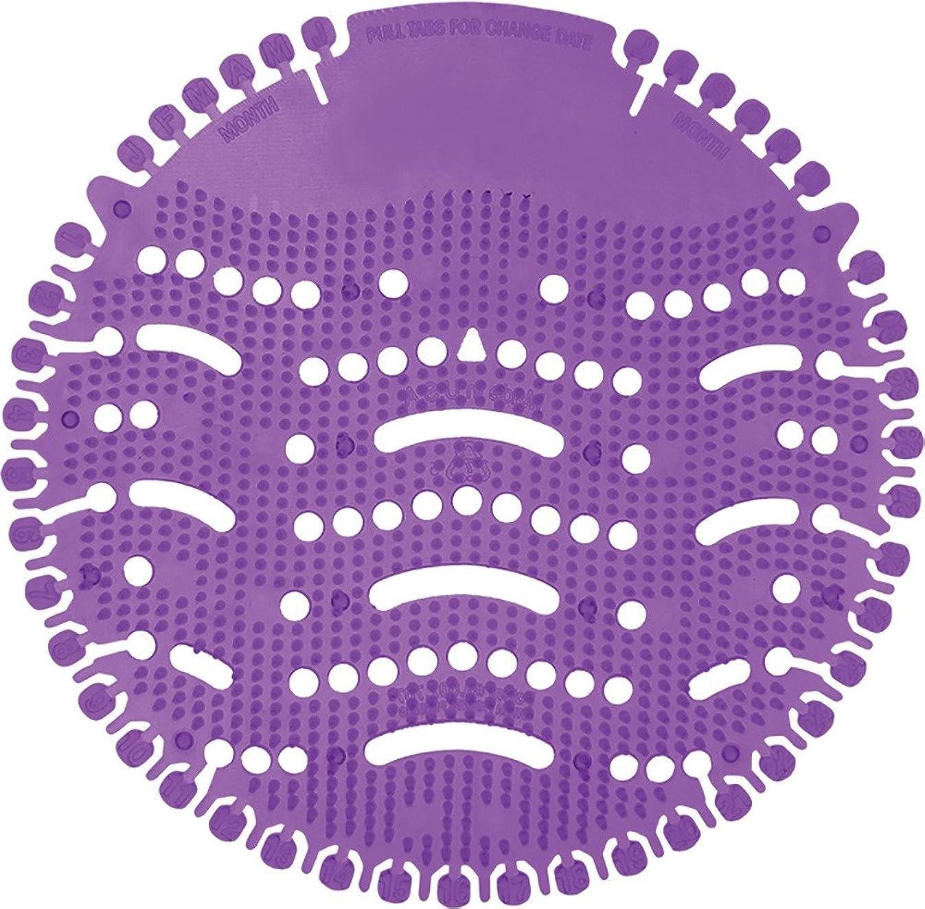Nilodor Ultra-PC Ultra Air Urinal Screen, Lavender Purple Crush (Pack of 10)