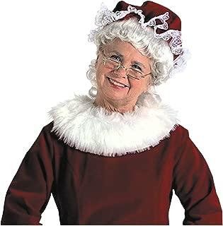 Mrs. Claus Mop Hat Burgundy