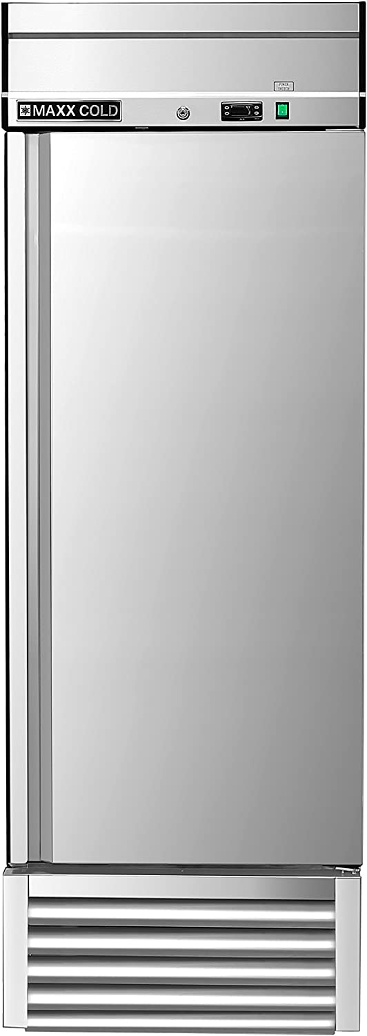 Maxx Cold MXSF-23FD One Sale special price 35% OFF 1 Door Upright Commercial Reach-In S NSF