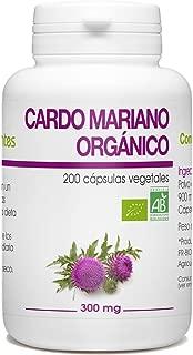 Cardo Mariano Orgánico - Silybum marianum - 300mg - 200 cá