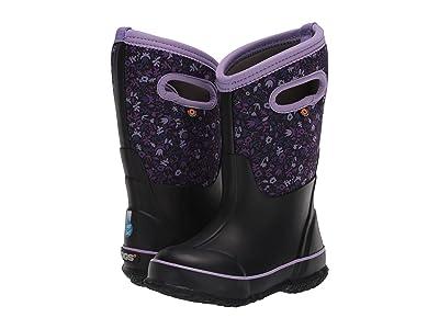 Bogs Kids Classic Freckle Flower (Toddler/Little Kid/Big Kid) (Black Multi) Girls Shoes