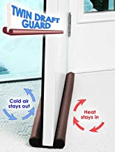 HOUSE OF QUIRK Stop Unwanted Light and Stop Escaping of Cool Air from Air Conditioner Split or Window Twin Door Draft Guard (Multicolour)