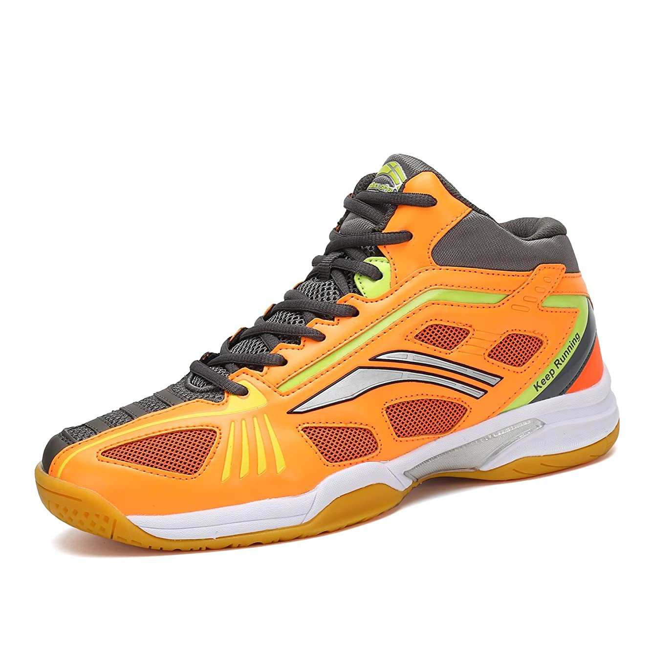 Mishansha Badminton Shoes for Men Non Slip Indoor Court Volleyball Tennis Sneakers Safety Training Shoe