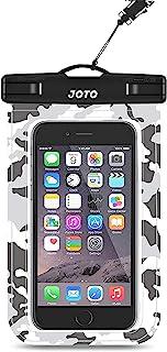 جراب JOTO Universal مقاوم للماء للهاتف المحمول الجاف لهاتف iPhone 11 Pro Max XS Max XR XS X 8 7 6S Plus، Galaxy S10 Plus S...