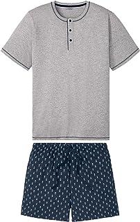 westAce Mens Pyjamas Shorts Set Loungewear Short Sleeve Top Big Size 2XL 3XL 4XL PJ's