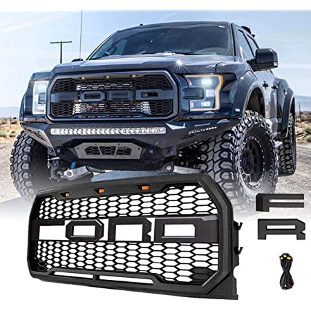 King Ranch LARIAT Platinum and Limited Raptor Style Front Grill ...