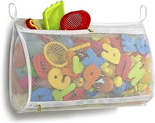 Tenrai Mesh Bath Toy Organizer, Bathtub Storage Bag, Multi-Purpose Baby Toys Net, Toddler Shower Caddy for Bathroom, Kids ...