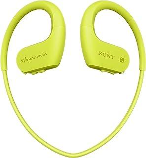ソニー SONY ヘッドホン一体型ウォークマン Wシリーズ NW-WS623 : 4GB スポーツ用 Bluetooth対応 防水/海水/防塵/耐寒熱性能搭載 外音取込み機能搭載 ライムグリーン NW-WS623 G