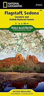 Flagstaff, Sedona [Coconino and Kaibab National Forests] (National Geographic Trails Illustrated Map (856))
