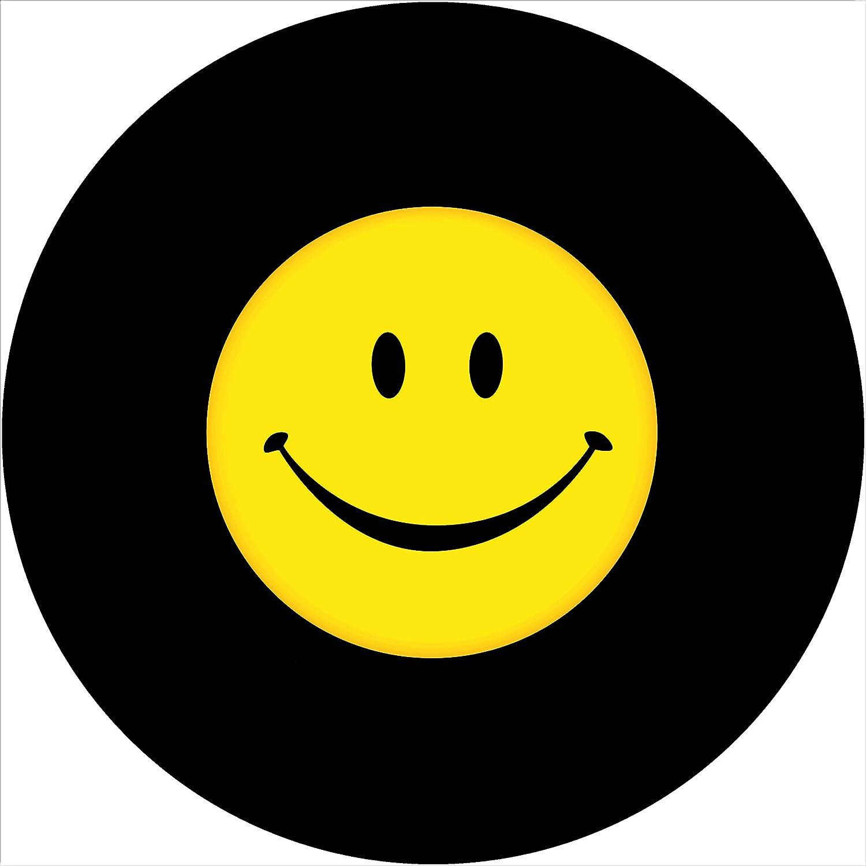TIRE COVER CENTRAL Smile Face Financial sales sale Mesa Mall Black Border Tire Spare Wheel Cove