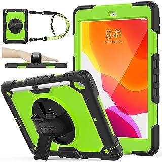 iPad 8th Generation Case iPad 10.2 Case 2020   AVAKOT iPad 7th Generation Case 2019,Hard Rugged Protective Cover w/Handle ...