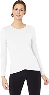 Women's Studio Long-Sleeve Cross-Front T-Shirt