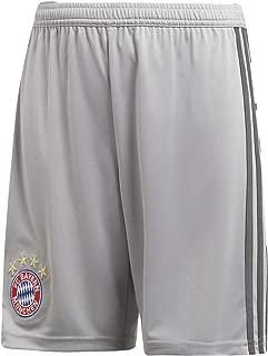 adidas 2018-2019 Bayern Munich Home Goalkeeper Shorts (Grey) - Kids