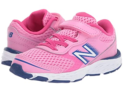 New Balance Kids 680v6 (Infant/Toddler) (Candy Pink/Exhuberant Pink) Girls Shoes