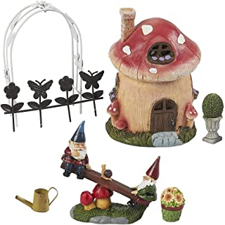 miniature garden gnome figurines