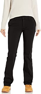 Dickies Women`s Perfect Shape Bootcut Twill Pant