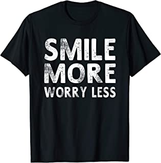 smile more shirt