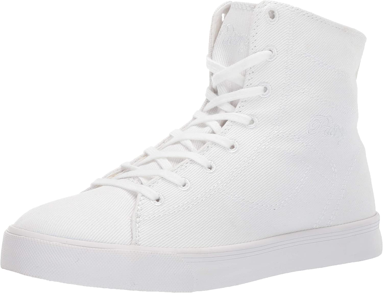 Pastry Unisex High-Top Fashion Sneakers - Cassatta Style, White