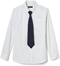 French Toast Boys' Long Sleeve Dress Shirt with Tie