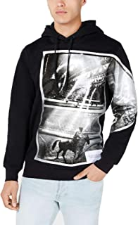 Calvin Klein Jeans Andy Warhol Mens Sweater Black US Small S Hooded