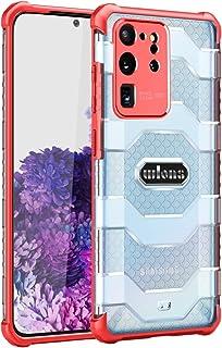 BAIYUNLONG Funda Protectora, para Samsung Galaxy S20 Ultra Explorer Series PC + Funda Protectora TPU (Color : Red)