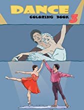 Dance Coloring Book (Volume 3)