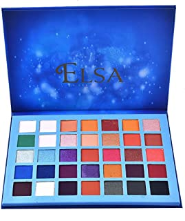 Honhui 35 colors blue marble star Palette Makeup Natural Shimmer matte eyeshadow