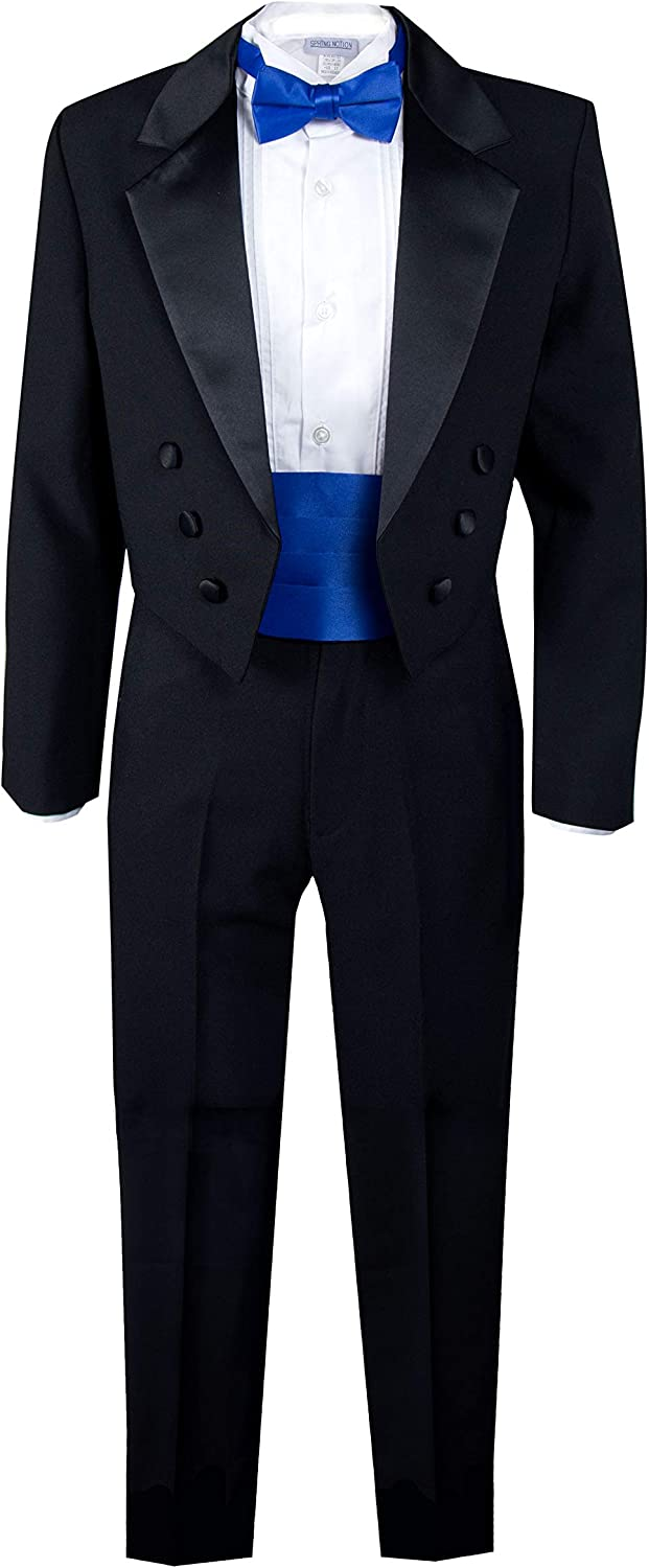 Spring Notion Boys' Black 5 popular Classic Tail Tuxedo New products, world's highest quality popular! with