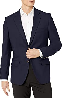 Amazon Essentials Men's Long-Sleeve Classic-fit Button-Front Stretch Blazer