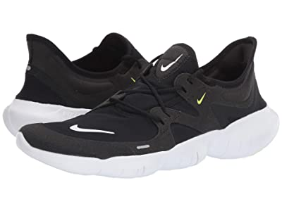 Nike Free RN 5.0 (Black/White/Anthracite/Volt) Men