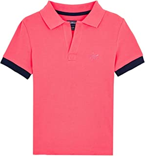 Vilebrequin - Boys - Cotton Polo Shirt Solid