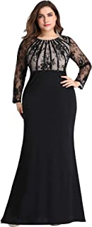 Best plus size party dresses long Reviews