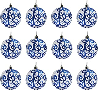 Best blue white gold christmas tree Reviews