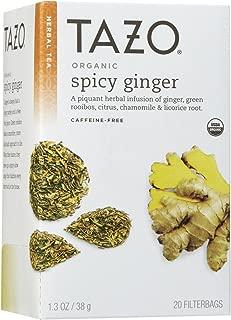 Tazo Organic Spicy Ginger Tea, 20 ct
