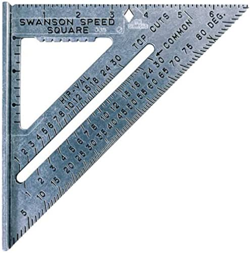 Swanson Tool Co S0101 7 Inch Speed Square