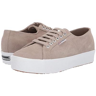 Superga 2730 Sueu Sneaker (Beige Sage Suede) Women