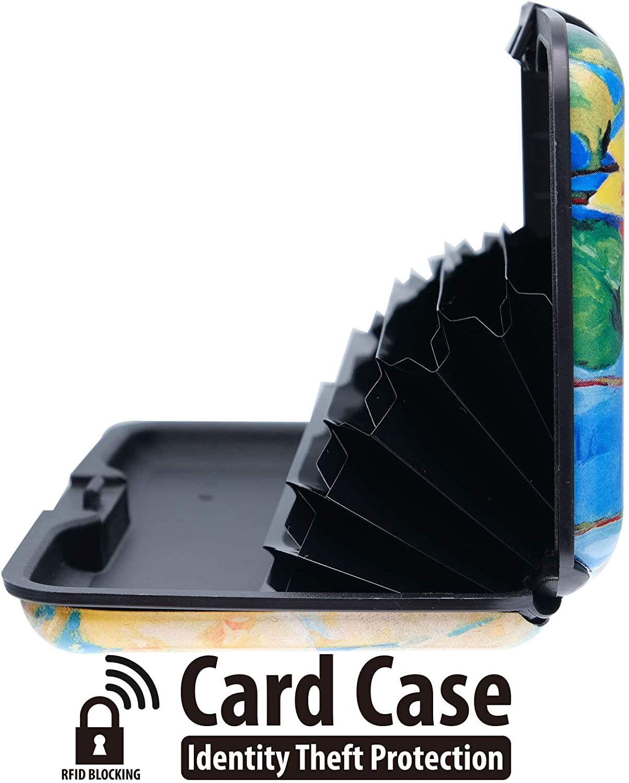RFID Blocking Credit Card Holder Aluminium Card Holder Metal Card Wallet Business Cards Holder for Women Men